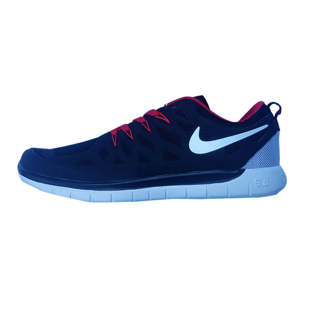 online store 712f3 cdc4f Nike Free Run 5.0 (Navy/Red)